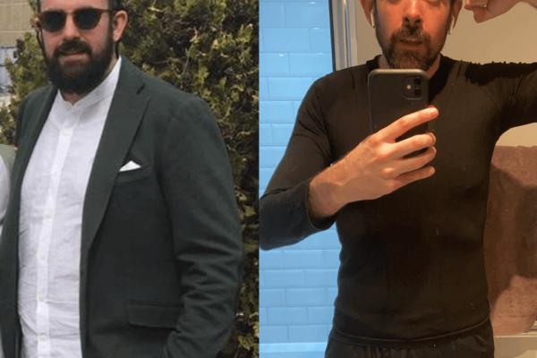 Male client transformation